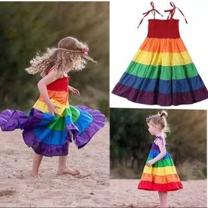 Other - Coming Soon! Rainbow Sundress 2-7 years